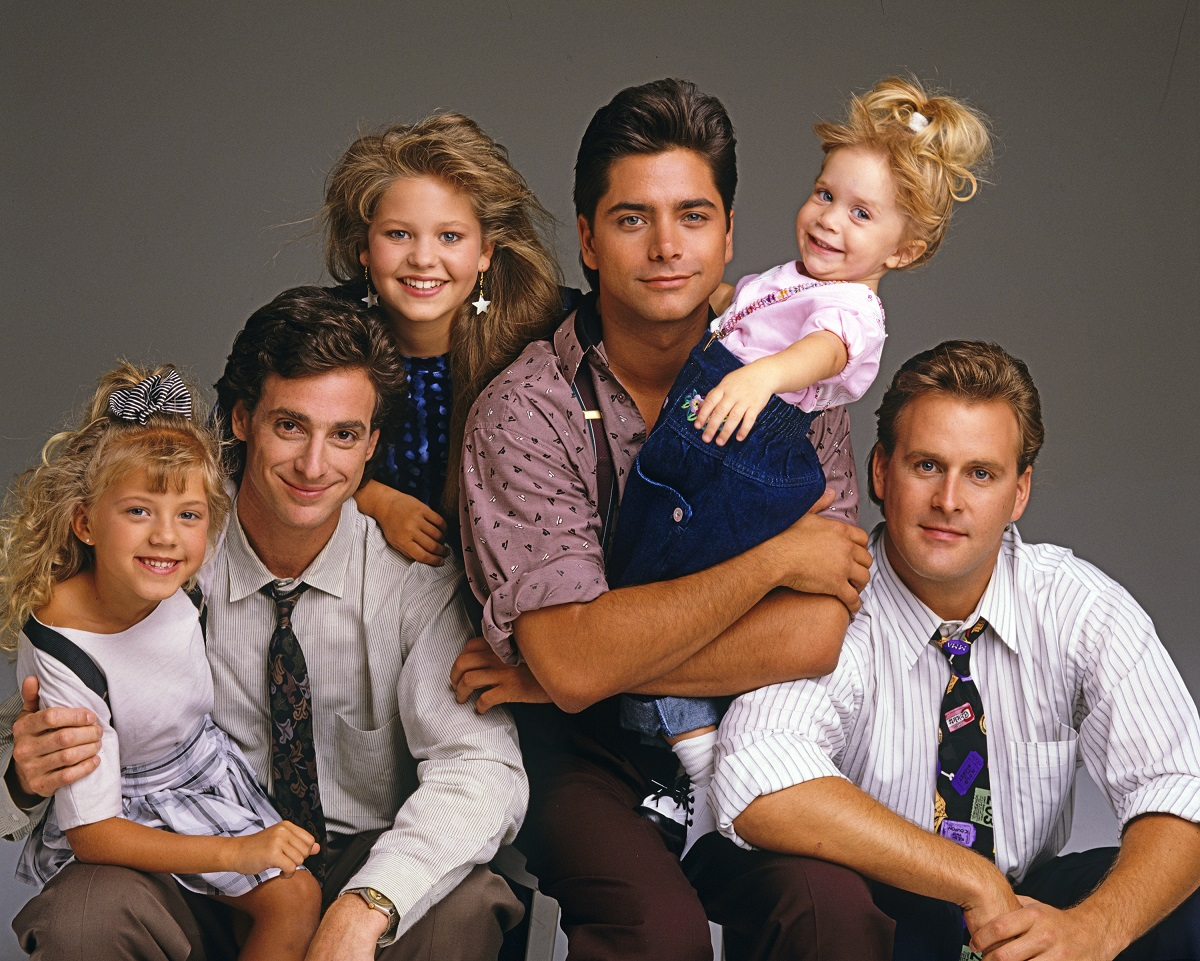 Jodie Sweetin, Bob Saget, Candace Cameron, John Stamos, Mary-Kate or Ashley Olsen, and Dave Coulier