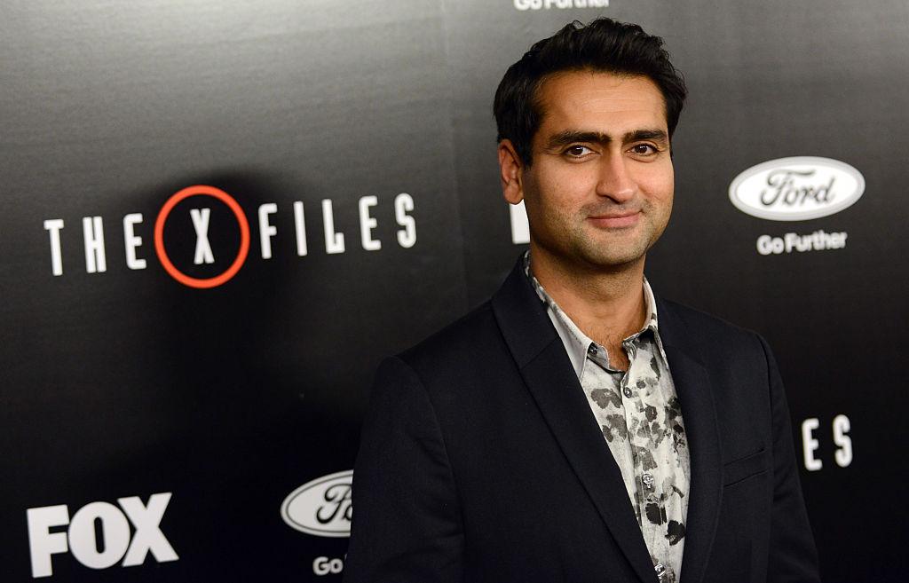 Kumail Nanjiani at the premiere of X-Files