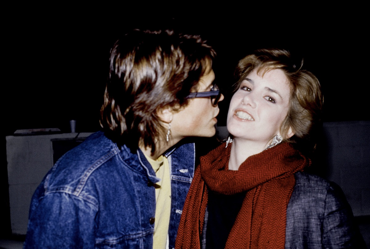 Rob Lowe and Melissa Gilbert in 1985