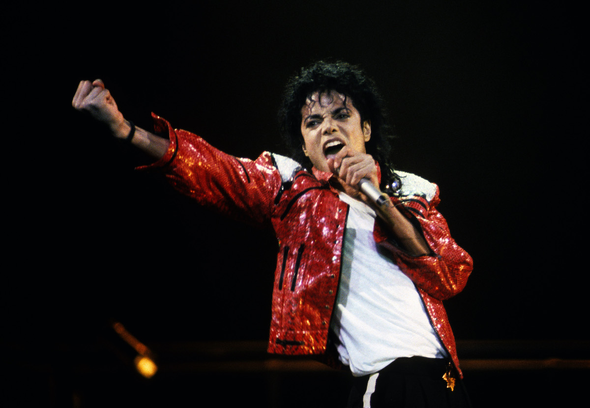Michael Jackson will be performing in a concert circa 1986