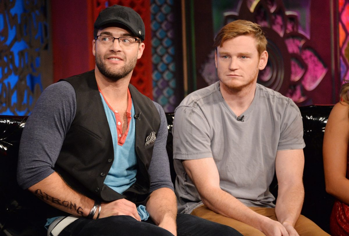 """Chris TV Person """"CT"""" Tamburello (L) and Wes Bergmann appear on MTVs """"The challenge: Competitors II"""" final program and reunion party"""