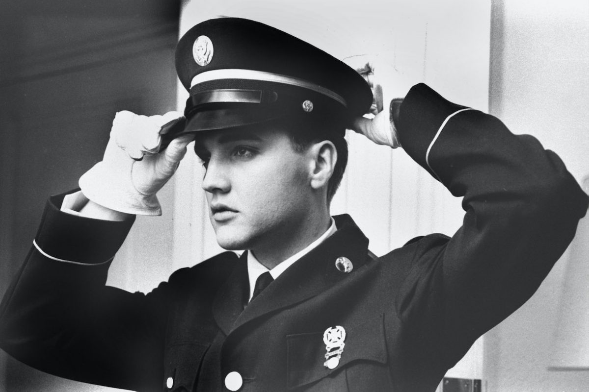 Elvis Presley during national military service duty 1958-1960