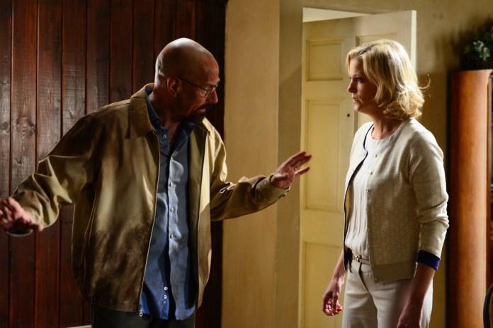 Walter White and Skylar White on 'Breaking Bad'
