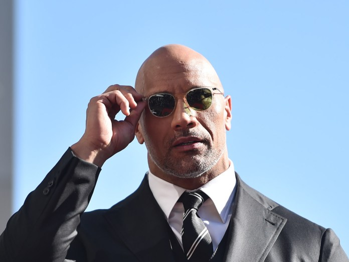 Actor Dwayne Johnson Attends Honor Ceremony with 2,624th Star at Hollywood Walk of Fame