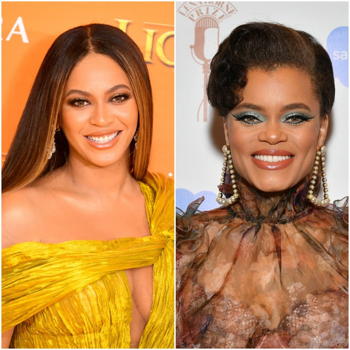 Beyoncé and Andra Day