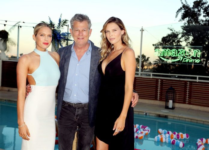 (LR): Erin Foster, David Foster, and Sarah Foster attend the Amazon Prime Summer Soiree