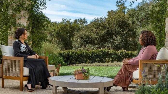 Oprah Winfrey interviews Meghan Markle for CBS primetime special