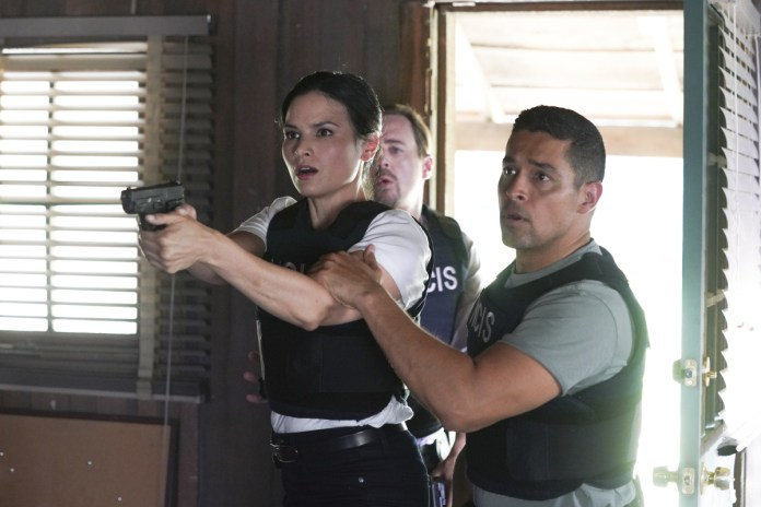 Sean Murray as NCIS Special Agent Timothy McGee, Katrina Law as NCIS Special Agent
