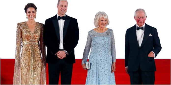Kate Middleton, Prince William, Camilla Parker Bowles and Prince Charles
