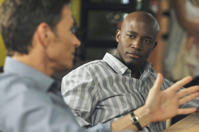 Ty Diggs listening to someone on ABC's 'Private Practice'.