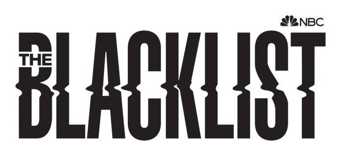 'The Blacklist' season 9 promo art in black lettering.