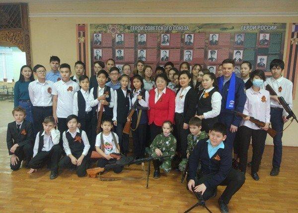 КАЛМЫКИЯ. Для школьников Элисты были проведены Уроки Мужества