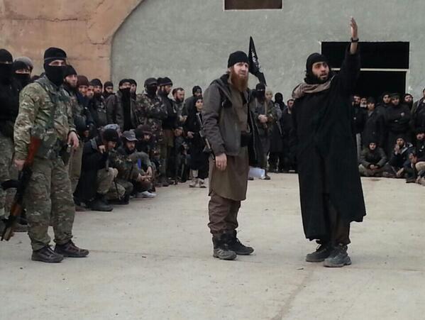 Syria: Video & Photos Of Umar Shishani's ISIS Brigade In Aleppo
