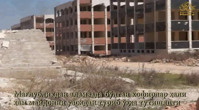 Videos Of Uzbek Imam Bukhari Jamaat Training Camp In Aleppo