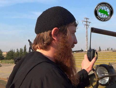 "Emir Of Umar Shishani Website ""Captured Near Deir Ezzor"""