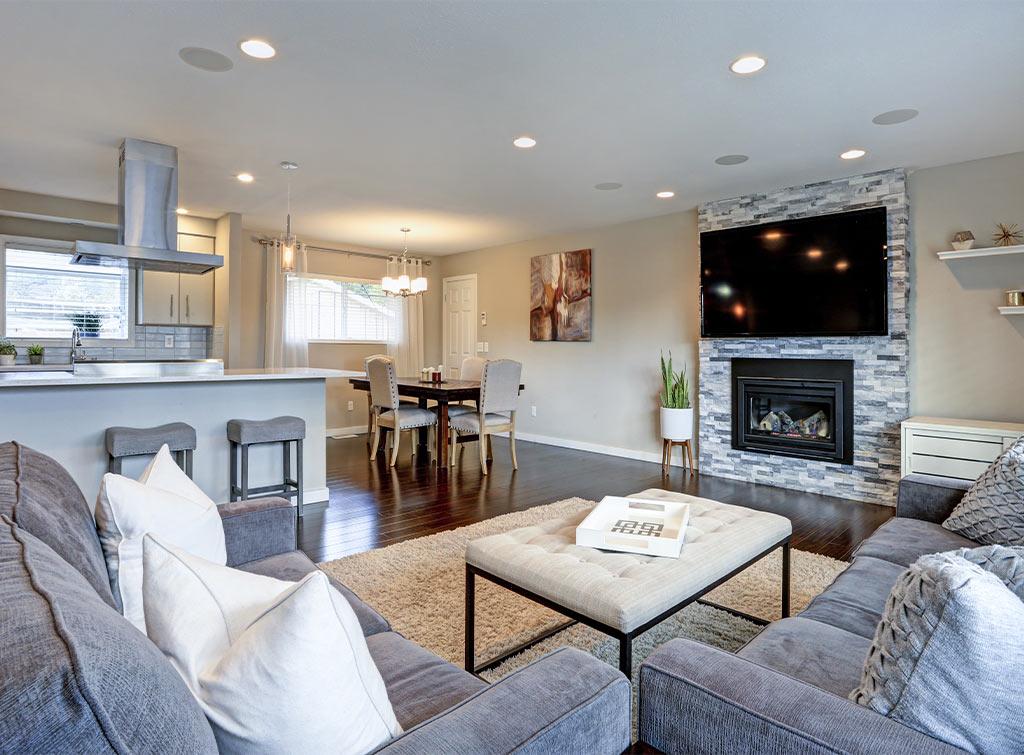 Planning For An Open Plan Kitchen Living Room Checkatrade Blog