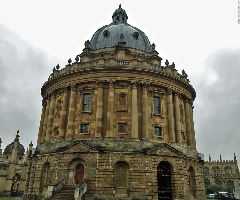 The Radcliffe Camera - Oxford University, England