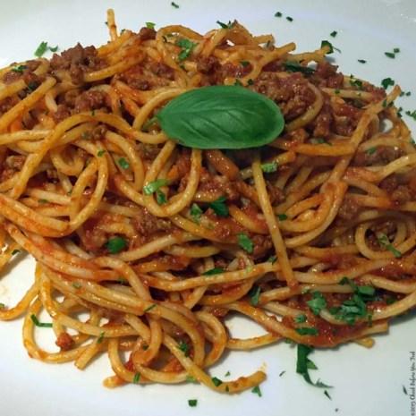 Spaghetti alla Bolognese at Viva L'Italia - Windsor, England