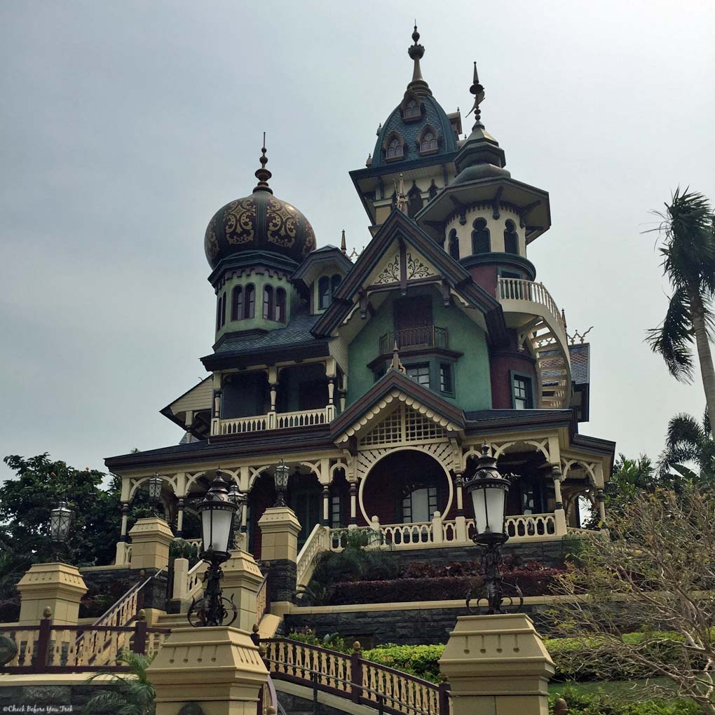Mystic Manor in Mystic Point - Hong Kong Disneyland, Hong Kong, China