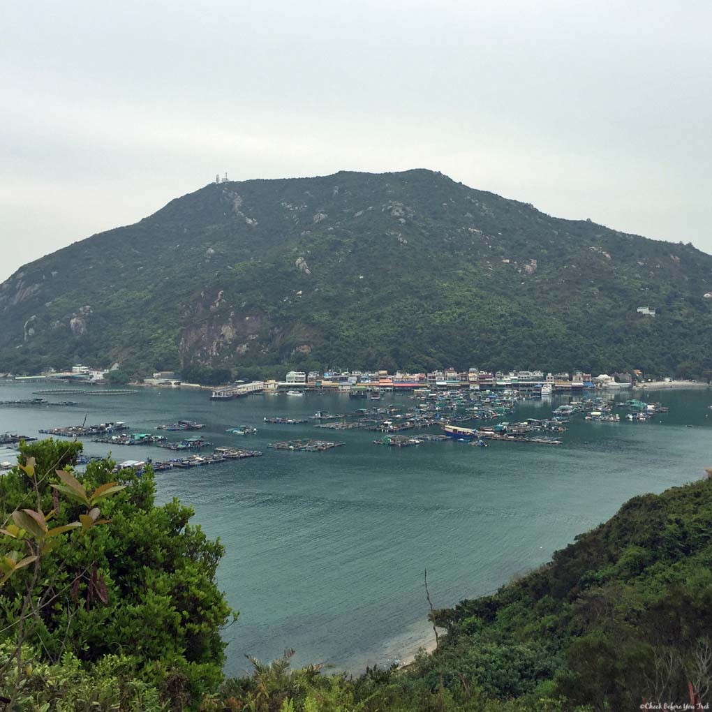 View of Pichic Bay and Sok Kwu Wan, Lamma Island - Hong Kong, China