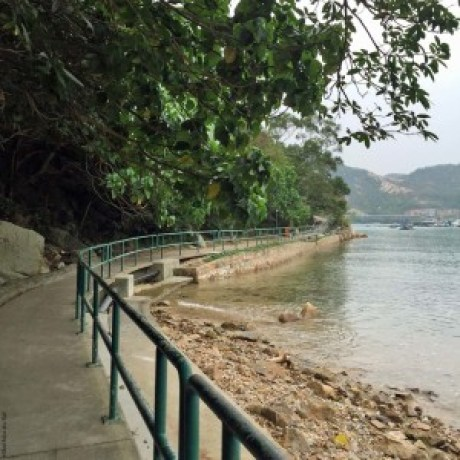 Part of the Lamma Island Famly Walk Trail - Hong Kong, China