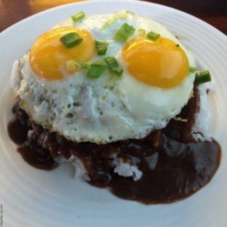 Loco Moco at 808 Grindz Cafe - Kailua-Kona, HI