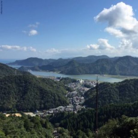 View from the mountain top of the Kinosaki Ropeway - Kinosaki, Japan