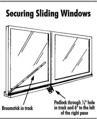 Glass Door  Securing Sliding Glass Doors