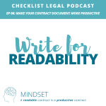 e06 Mindset -Checklist Legal Podcast with Verity White 2018