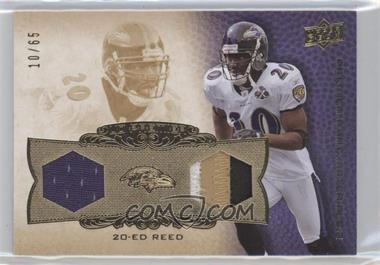 2008 Upper Deck Premier Rare Materials Dual 65 #PP2ER - Ed Reed/65 - Courtesy of CheckOutMyCards.com