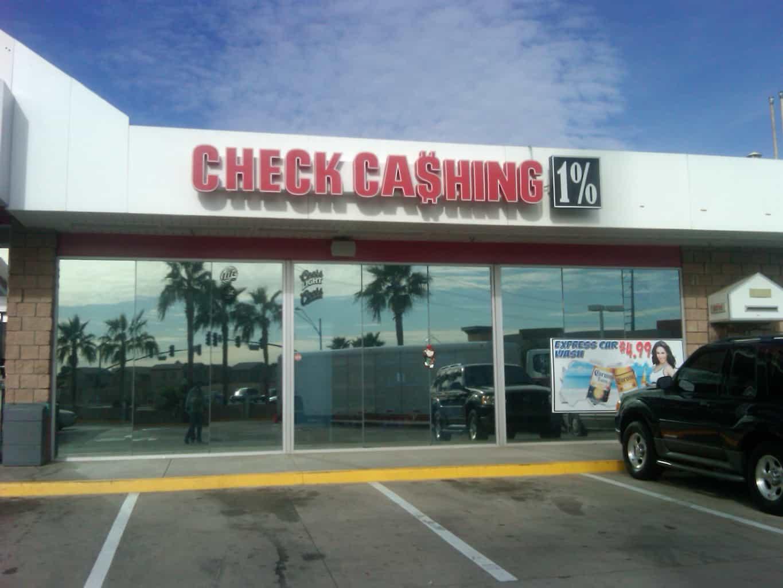 OutsideOfStore  1 Checks Cashed 1 in Phoenix Glendale