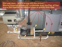 Attic Air Conditioner Drip Pan Installation | HVAC Coil ...
