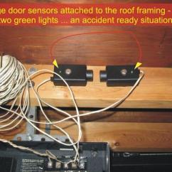 Chamberlain Garage Door Sensor Wiring Diagram Ez Go Txt Battery Sensors | Overhead Opener Troubleshooting - Checkthishouse
