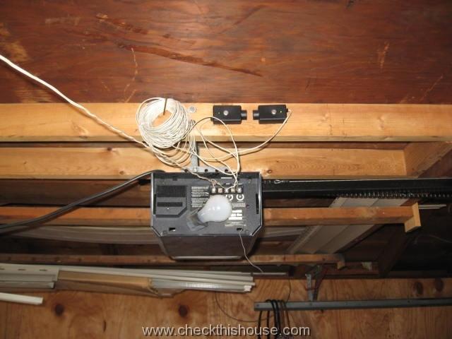 Wiring Craftsman Garage Door Opener Sensors