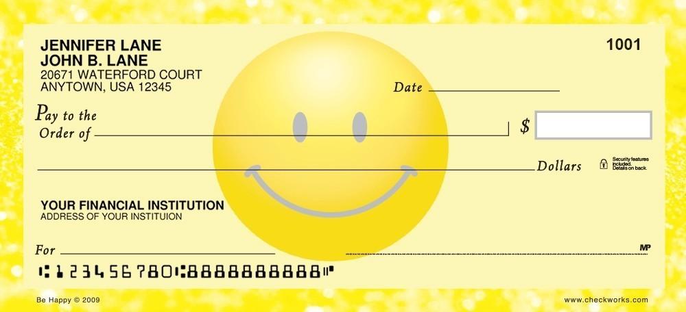 be happy personal checks