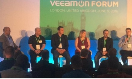 Veeam Community Pod Cast Live from London UK