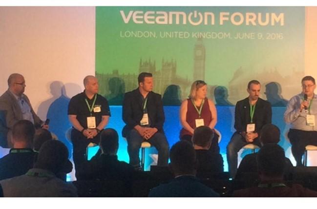 Veeam Community Pod Cast Live from London UK