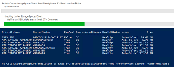 Deploying Storage Spaces Direct – Part 8 #StorageSpacesDirect #mvphour