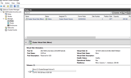 Deploying Storage Spaces Direct – Part 9 #StorageSpacesDirect #mvphour