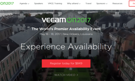 List of my Sessions for #VeeamOn 2017 New Orleans, LA #Veeam #VeeamVanguard #MVPBuzz