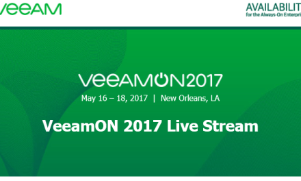 #VeeamON 2017 is available via @livestream #mvphour #veeam