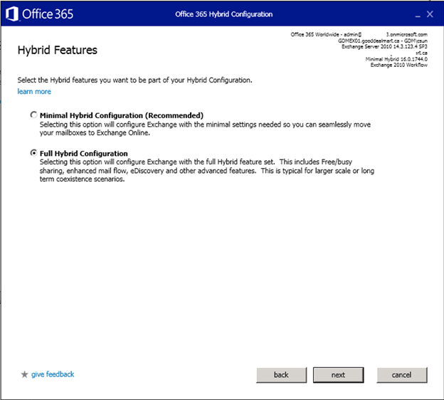STEP BY STEP MIGRATE EXCHANGE FROM ON-PREMISES TO OFFICE 365 PART 9 – FULL HYBRID CONFIGURATION #OFFICE365 #MVPHOUR #STEP-BY-STEP