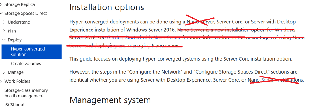 Deploying Storage Spaces Direct – Part 29 – The Death of #StorageSpacesDirect on #NanoServer #MVPHour #HyperV
