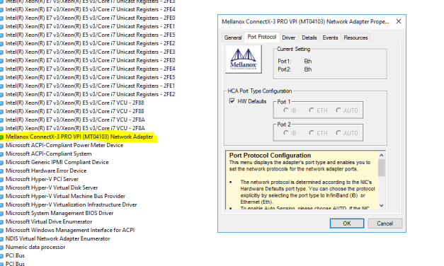 Deploying Storage Spaces Direct – Part 32 – @MellanoxTech Hidden Device Manager Settings #StorageSpacesDirect #MVPHour #HyperV