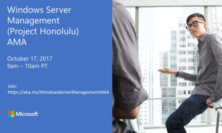 Join us for Windows Server Management (Project Honolulu) AMA #MVPBuzz #MVPHour