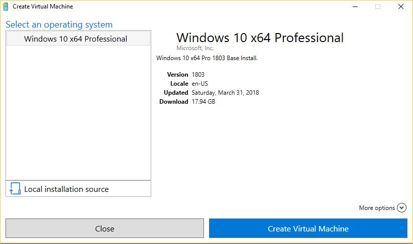 Hyper v manager iso download