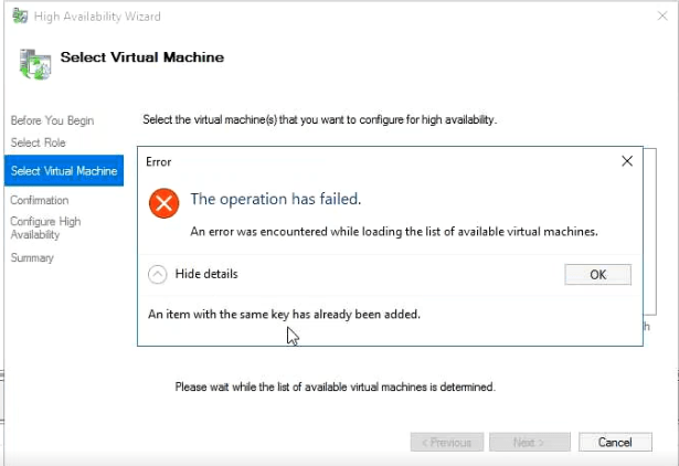 The Case of – Failed to unregister the virtual machine with