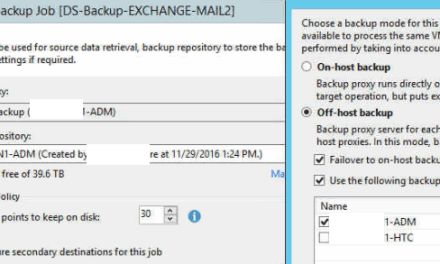 Speeding up Veeam Backups from a Hyper-V Cluster #Veeam #StorageSpacesDirect