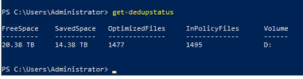The Case of Upgrading a Veeam Backup Repository from Windows Server 2016 to 2019 and Enabling Deduplication on ReFS – #ReFS #DeDuplication #WindowsServer2019