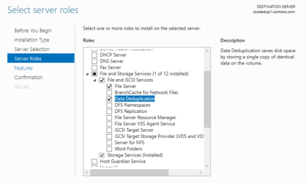 The Case of low Disk Space on Windows Server R2 File Servers – Enable Dedup – #MVPHour